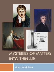 Mysteries of Matter Cover